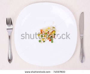 plate small food