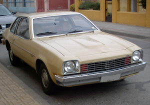 Monza Coupe Towne 1977 no Chile