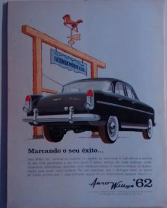 Propagando do Aero Willys '62