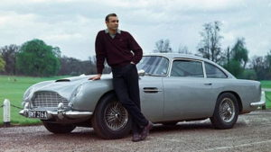 "James Bond imortalizou o DB5 em ""Goldfinger"""