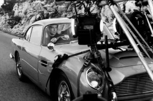 DB5 durante as filmagens