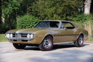 Larry's Coronado Gold 1967 326 HO Firebird Coupe